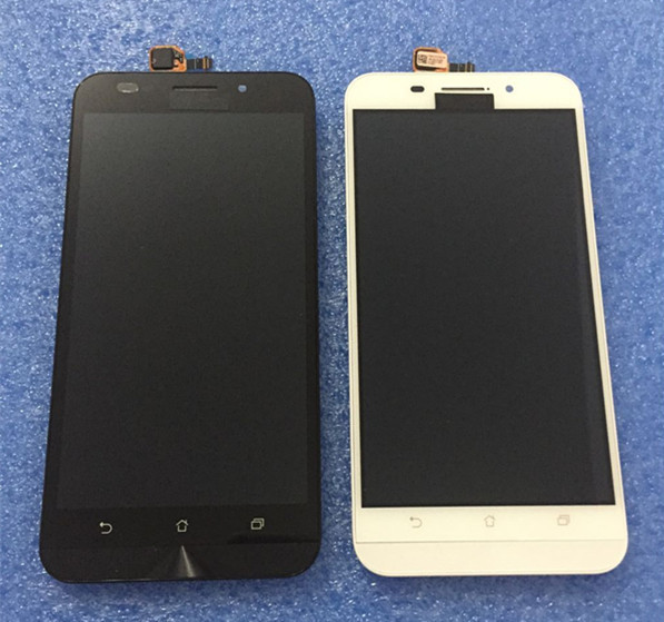 "LCD screen display+touch digitizer with frame For 5.5 ""ASUS zenfone max ZC550KL ZenFone 5000 Z010DA White/Black free shipping"
