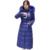 2016 Chaqueta Mujeres de la Capa Parka de Gran Tamaño Xxxxl de Las Mujeres Abajo Ucrania Invierno Cálido abrigo Con Capucha cuello de Piel Abrigo Largo TS1902