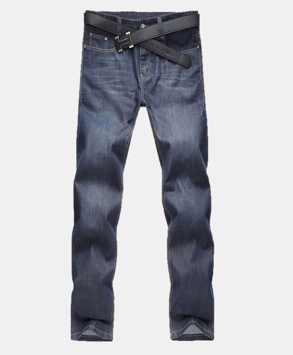 Men s Jeans Homme Denim Pants For Men Straight Casual Skinny Male Slim Fit Clothes Big