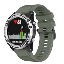 все цены на Quick easy fit silicone strap Watchband for Garmin Fenix 5 Sapphire Quatix 5 Forerunner 935 Approach S60 Premium smart watches