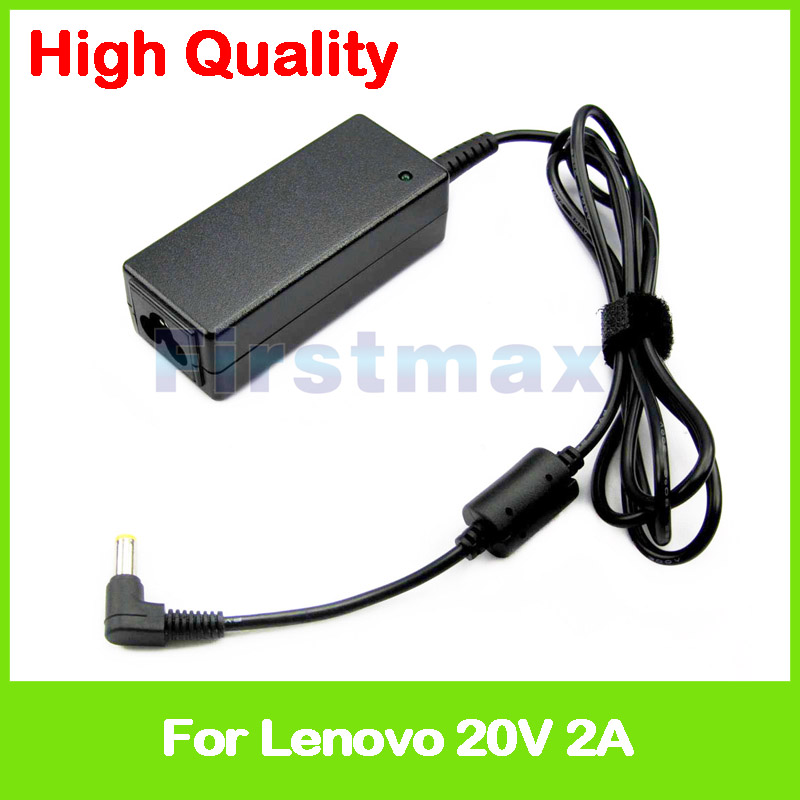 40W 20V 2A universal AC power adapter for <font><b>Lenovo</b></font> IdeaPad S100 S100c S110 S12 S200 S205 S205s <font><b>S206</b></font> S300 S9 S9e charger image