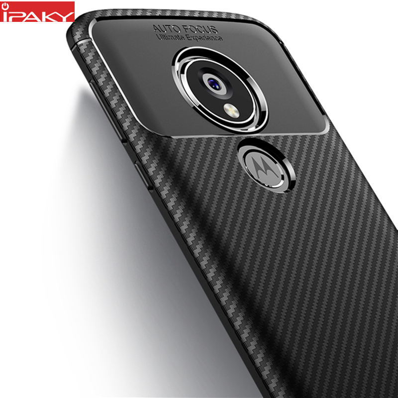 a Moto E5 tokhoz IPAKY a Moto E5 Plus tokhoz Szilikon TPU - Mobiltelefon alkatrész és tartozékok