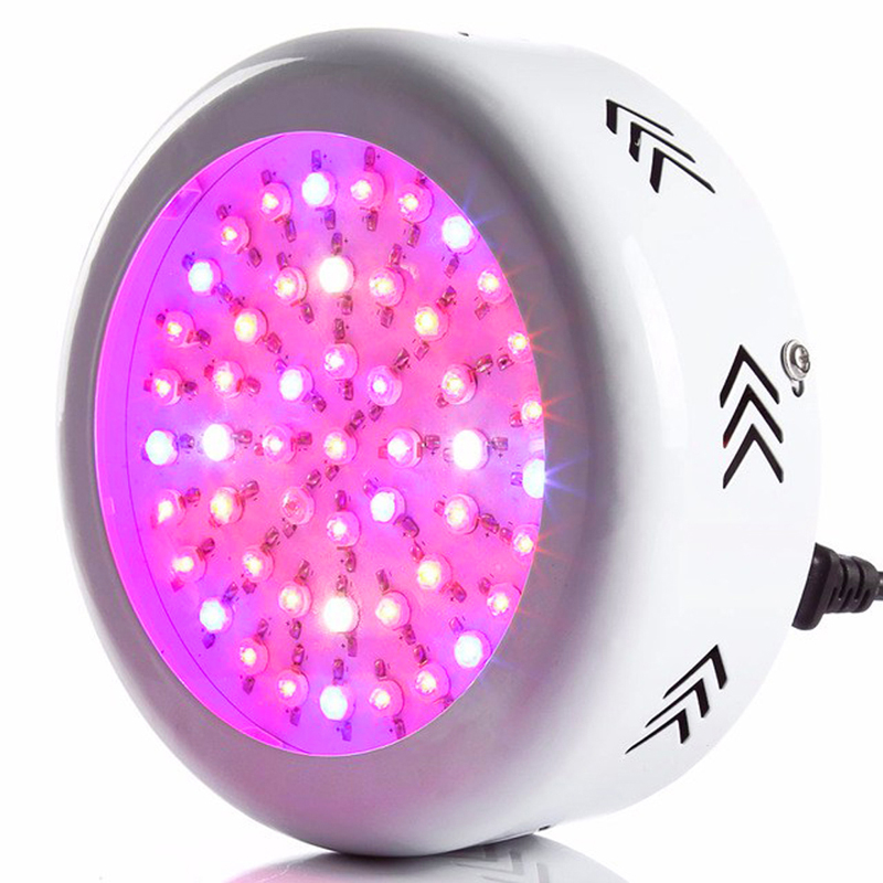 Led Plant Grow Lamps UFO LED Lamp UV IR LED Horticulture Grow Light for Indoor Plants Garden Flowering Hydroponics System US EU 5pcs lot 90w ufo led grow light led horticulture lighting 9bands led lamp best for medicinal plants growth and flowering
