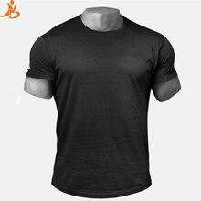 9ca75381 Custom Logo 2018 New Men's Running T shirt Quick Dry Comprssion Shirt Gym  Training Sport Shirt