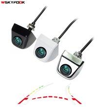 CCD 600 линия динамическая траектория задняя камера заднего вида переменная парковочная линия цинковый сплав unversal camera180deg fisheye