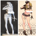 BITCH POLICE R18 Nightstick 1/20 Resin Model Kit Free Shipping
