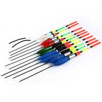 Bobbers pêche flotteur Set Master série flotte pêche lumière bâton 26 cm 1g 3g 6g 10 pcs/lot pêche Bobber