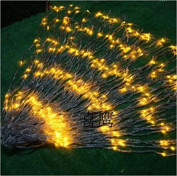 9 Color Choose 3m X 3m Waterfall Light Christmas Wedding Party Background Holiday Water Flow Curtain LED Light String 336 Bulbs