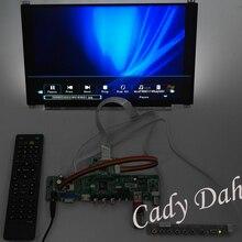HDMI CVBS RF USB VGA Audio Video PC Computer Monitor V59 Controller Board + IPS N133HSE EA3 EB3 1920x1080 EDP LCD Display Panel(China (Mainland))