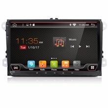 KLYDE 9 «2 Din Android 8,1 8 Core полный сенсорный нет DVD Радио Для VW SAGITAR JATTA JETTA автомобиля
