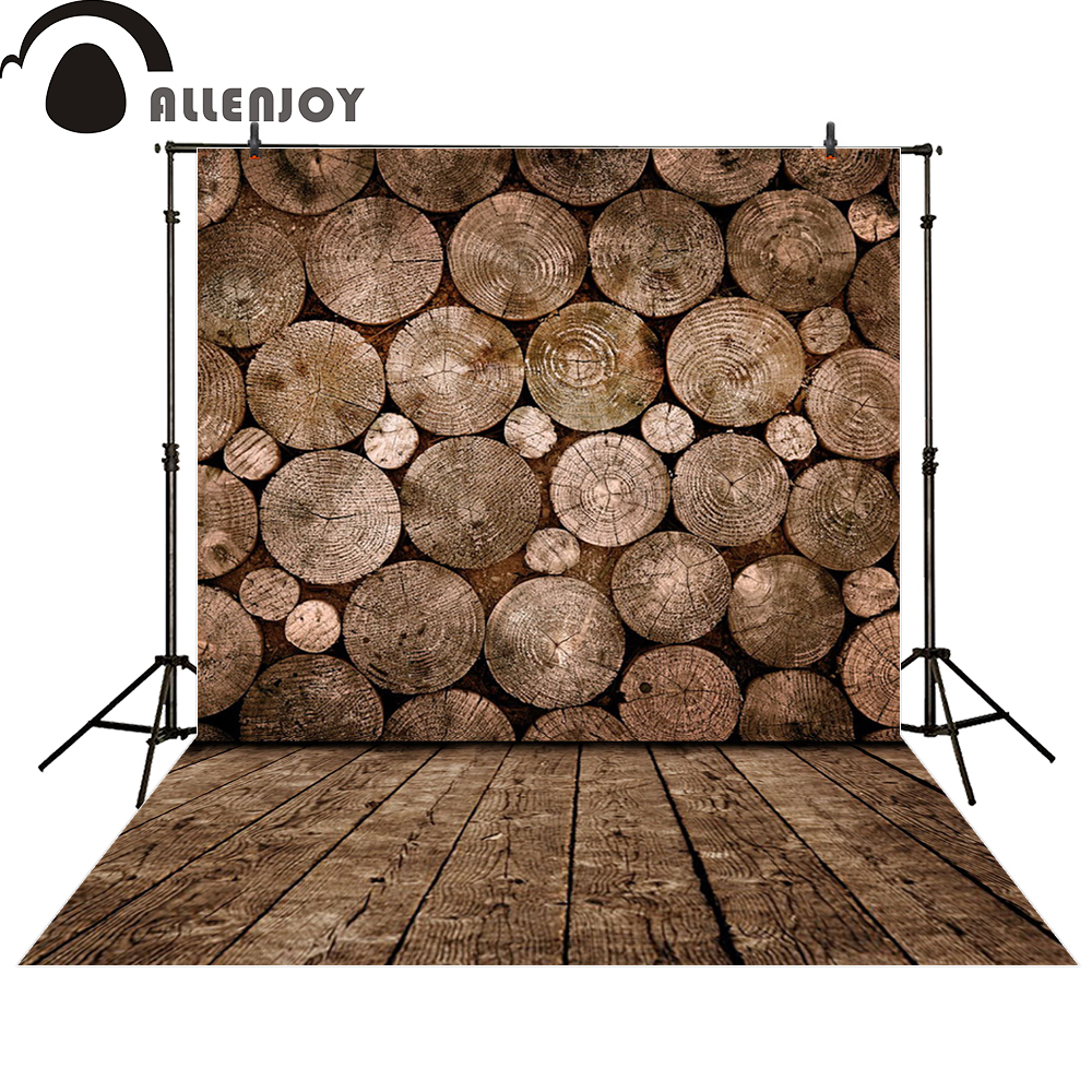 Allenjoy photography background wood full annual rings photocall photographic photo studio photobooth fantasy