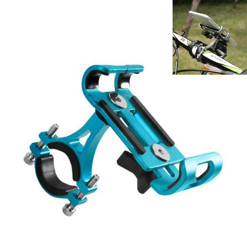 Bicycle Aluminum Mobile Phone Holder 360 Degree Rotation Riding Navigation Bracket Electric Car Mobile Phone Holder Bike Tools