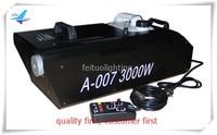 (2/lot)Lights smoke machine 3000 watt ground fog machine 3000w smoke fogging machine