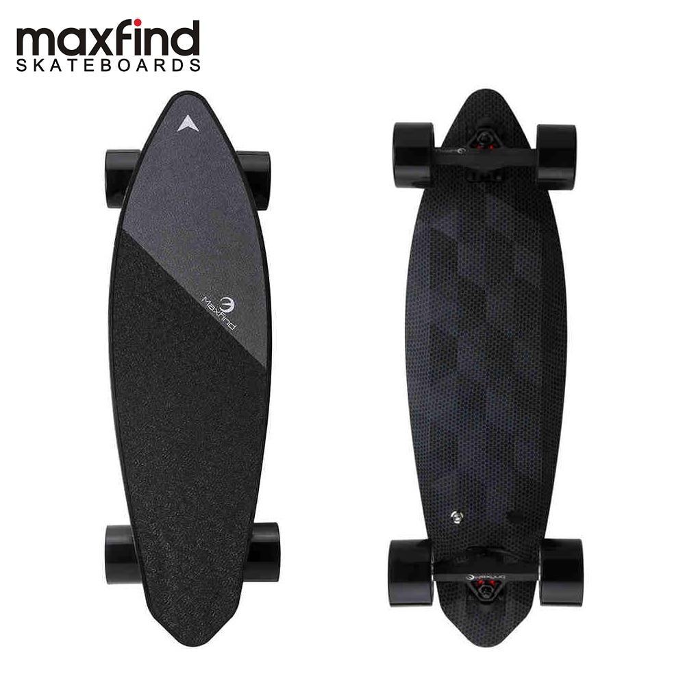 Maxfind Édition Limitée skateboard électrique Max 2 Foncé Longboard 31