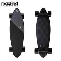 Maxfind Limited Edition Electric Skateboard Max 2 Dark Longboard 31 23 MPH Top Speed 16 Miles Max Range Dual Motor
