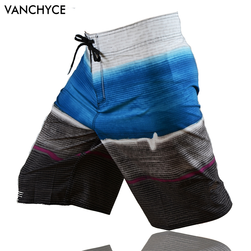 VANCHYCE Quick Dry Men's   Board     Shorts   Men's   Shorts   Beach Wear   Short   Pants Bermuda   Shorts   Lighter Stretchier Dries Quicker T303