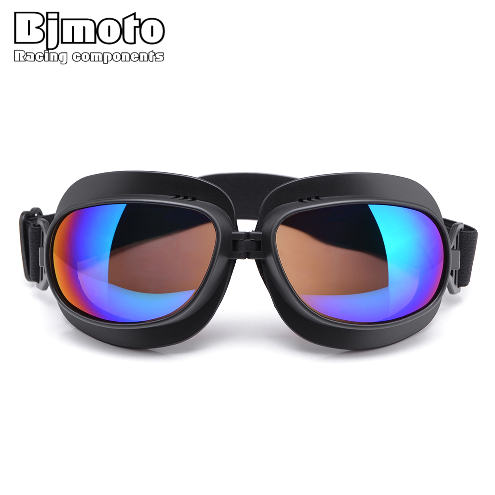 BJMOTO Universal Gafas Motorcycle Goggles Masque Motocross Goggles Helmet Glasses Windproof Off Road Moto Cross Helmets Goggles