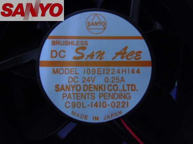 Original Für Sanyo 109E1224H144O 12 cm 12038 DC24V Dual ball fan kühlkörper lüfter axial lüfter server fan