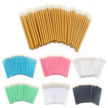 50Pcs Professional Makeup Disposable Eyelash Brush Mascara Wands Applicator Spoolers Eye Lashes Cosmetic Brushes Makeup Tool цены