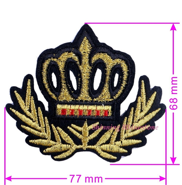 Embroidery Iron On Garment Patches