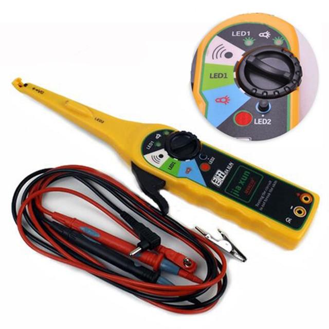 yellow color car auto power electric circuit tester lamp probe light rh aliexpress com electrical wiring testing generator electrical wiring testing generator