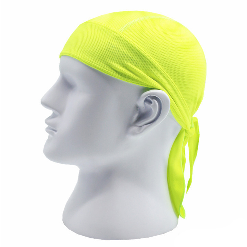 Sports soft equipment riding outdoor sports hat scarf breathable quick-drying sunscreen motorcycle cap color:fluorescent green