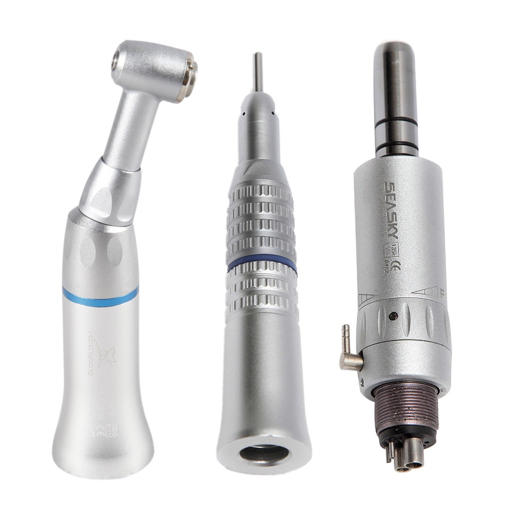 NSK Style Dental Contra Angle Handpiece Straight E-type Air Motor Kit 4H YADNSK Style Dental Contra Angle Handpiece Straight E-type Air Motor Kit 4H YAD