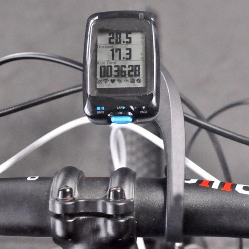 Carbon Computer Mount Bike Integrated Bar GSP Speedometer Holder For Garmin