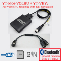 Yatour Car stereo USB SD MP3 player for Volvo HU radio with RTI Navigation
