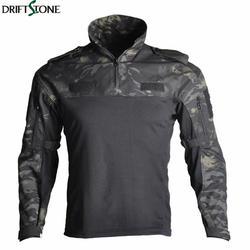Мужская тактическая камуфляжная военная форма, костюм для страйкбола, пейнтбол, одежда для армии США, рубашка в армейском стиле + штаны