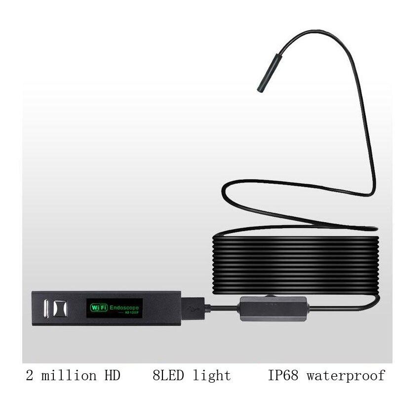 Messung Und Analyse Instrumente Werkzeuge Sonderabschnitt Ip67 8mm Hd 1200 P Weichen Und Harten Kabel Wasserdichte Inspektion Rohr Super Klar Kamera Wifi Endoskop Für Windows Android Ios Einen Effekt In Richtung Klare Sicht Erzeugen