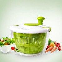 Kitchen Accessories Vegetables Water Drain Basket Washing Artifact Mixer Salad Tools Rotator Cooking Tool ZP2251637WF