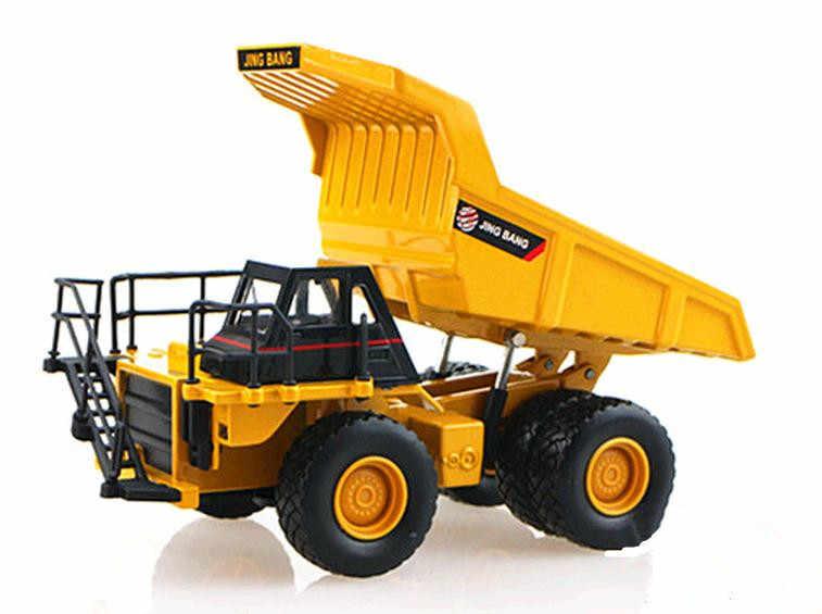 Paduan mobil, 1: 60 paduan kendaraan konstruksi, Koleksi model truk, Diecast & Toy Kendaraan, Excavator, truk mainan mobil, grosir