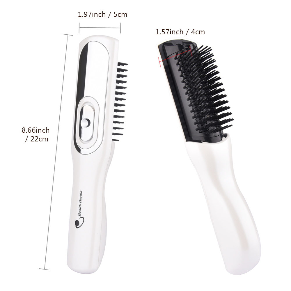 Infrared Laser Comb Hair Growth Massage Comb Anti Hair Loss Treatment Portable Germinal Therapy Combs Scalp Massager Care Tools (2)