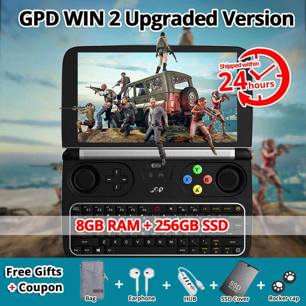 Detail Feedback Questions about Original GPD WIN 2 Gamepad Tablet PC