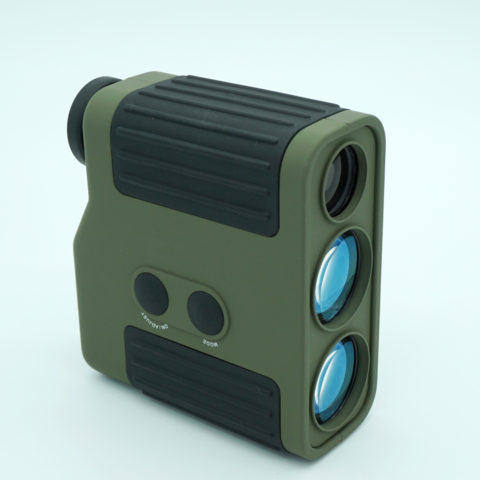 High precision Professional golf Laser Range Finder For Hunting WIith Range Measurement 1500M Rangefinder Green and Black цена и фото