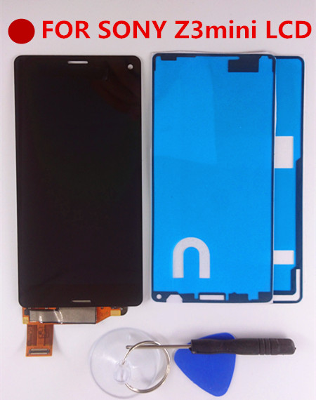 4 6 For Sony Xperia Z3 Compact LCD Display Z3 Mini LCD D5803 D5833 Touch Screen