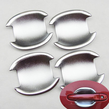 Chrome Car Door Handle Cup Bowl Cover For For Nissan Cube 2009 2011 Juke 2011 2014