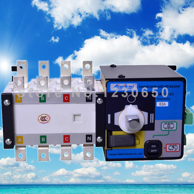 Automatic Transfer Switch 4P(ATS 63A) for generator ночная сорочка 2 штуки quelle arizona 464118