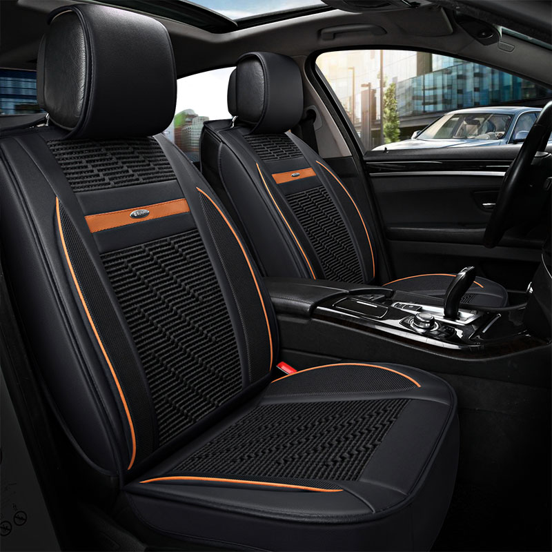 leather auto universal car seat cover covers for ford lanos new fiesta sedan edge everest. Black Bedroom Furniture Sets. Home Design Ideas
