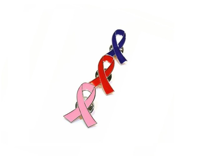 US $0 63 6% OFF|Breast Cancer Awareness Ribbon Pin Lapel Brooches-in  Brooches from Jewelry & Accessories on Aliexpress com | Alibaba Group