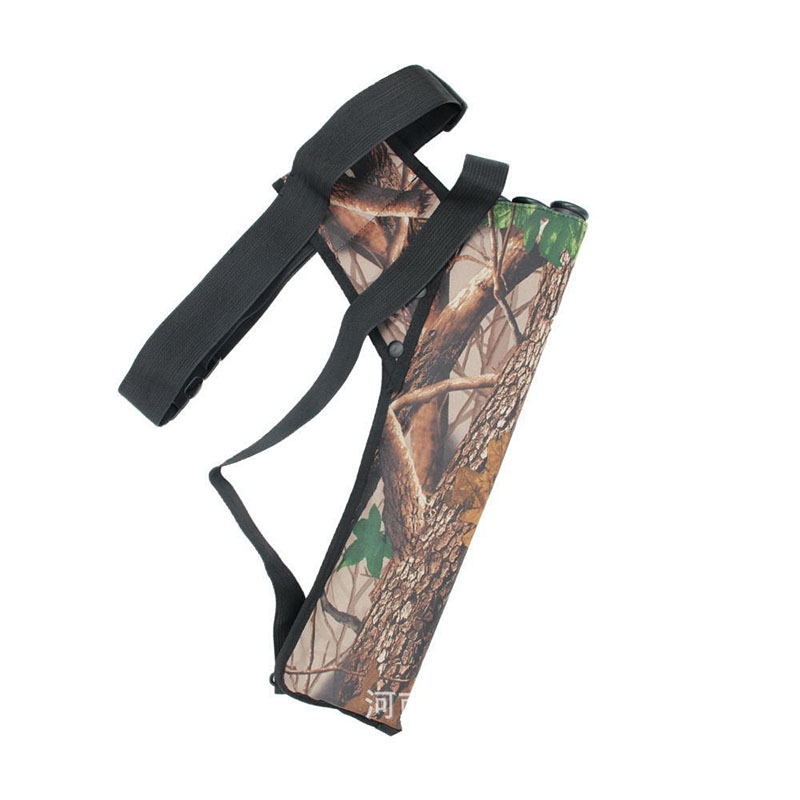 Archery Arrow Bag Longbow Equipment Accessories Adjustable Compound Crossbow Bow Holder Professional