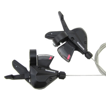 100 oryginalne SHIMANO Altus SL-M310 3s 7s 8s Shifter zestaw wyzwalaczy Rapidfire 21 prędkości 24 prędkości manetki w wewnętrzne kable tanie i dobre opinie Przerzutki Stop 3x7speed 3x8speed Shifters