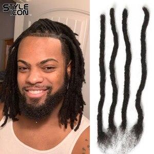 Image 1 - New Arrival Afro Kinky Bulk Human Hair for Braiding Crochet Human Hair Curly Wave Crochet Dreadlocks Human Hair 12inch 20inch