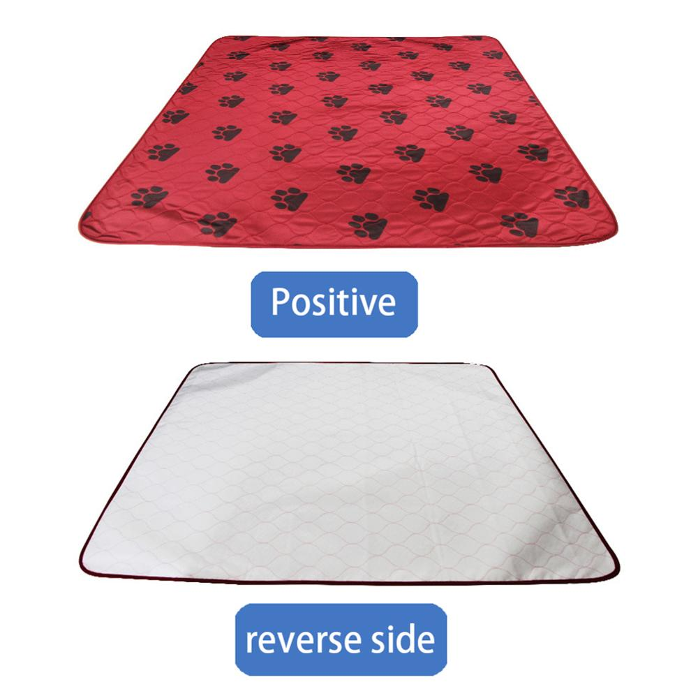 Waterproof Reusable Dog Pee Pad Washable Puppy Training Pad Pet Training Floor Mats Kitchen Floor Mat in Cat Beds Mats from Home Garden