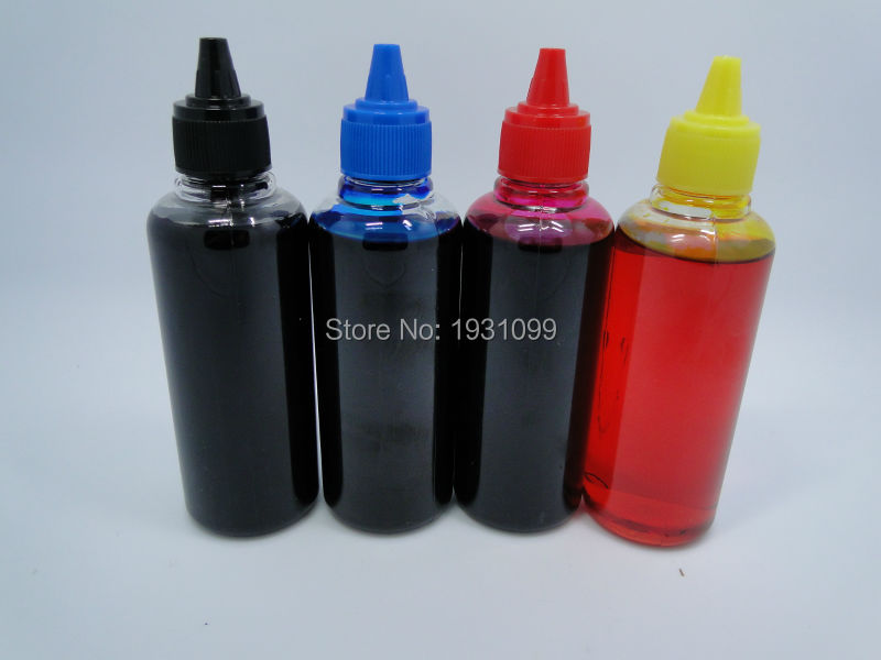 4 color 100ml Ink Universal Refill Dye Ink Compatible For Brother For CANON For Epson For
