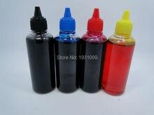 4 color 100 мл Чернил Универсальный Заправка Цветных Чернил Совместимый Для Brother для CANON Для Epson Для HP Для Всех Моделей Струйных Принтеров СНПЧ чернил