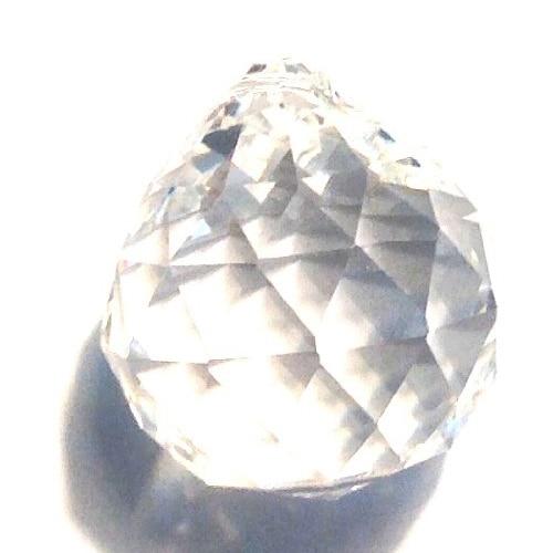 25 Sapphire Hanging Crystal Ball Prism Chandelier Feng Shui Drops Pendants 20mm