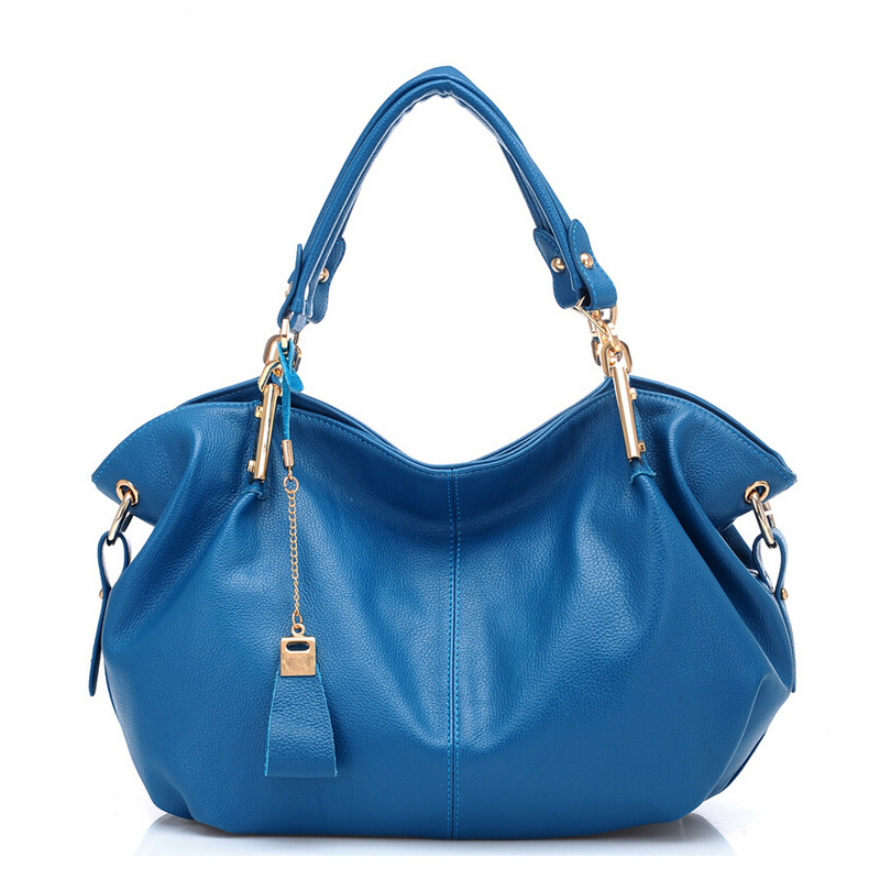 2017 Fashion Soft Leather Women Big Tote Bag High Quality Female Handbag Blue Black Beige Ladies Shoulder Bag For Shopping Work 2018 new women bag ladies shoulder bag high quality pu leather ladies handbag large capacity tote big female shopping bag ll491