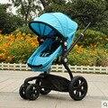 Wellbaby suspensão super dobrar carrinho de bebê, pram do bebê à prova de choque de ultra
